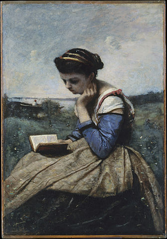 335px-Camille_Corot_-_A_Woman_Reading_-_The_Metropolitan_Museum_of_Art
