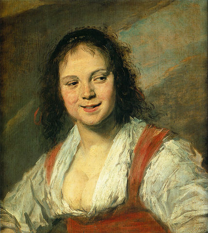 Pleasure woman Frans Hals