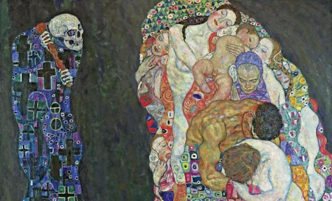 Death and Life Klimt Leopold Museum