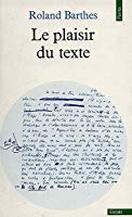 Pleasure of the text Barthes