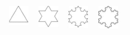snowflake fractal four